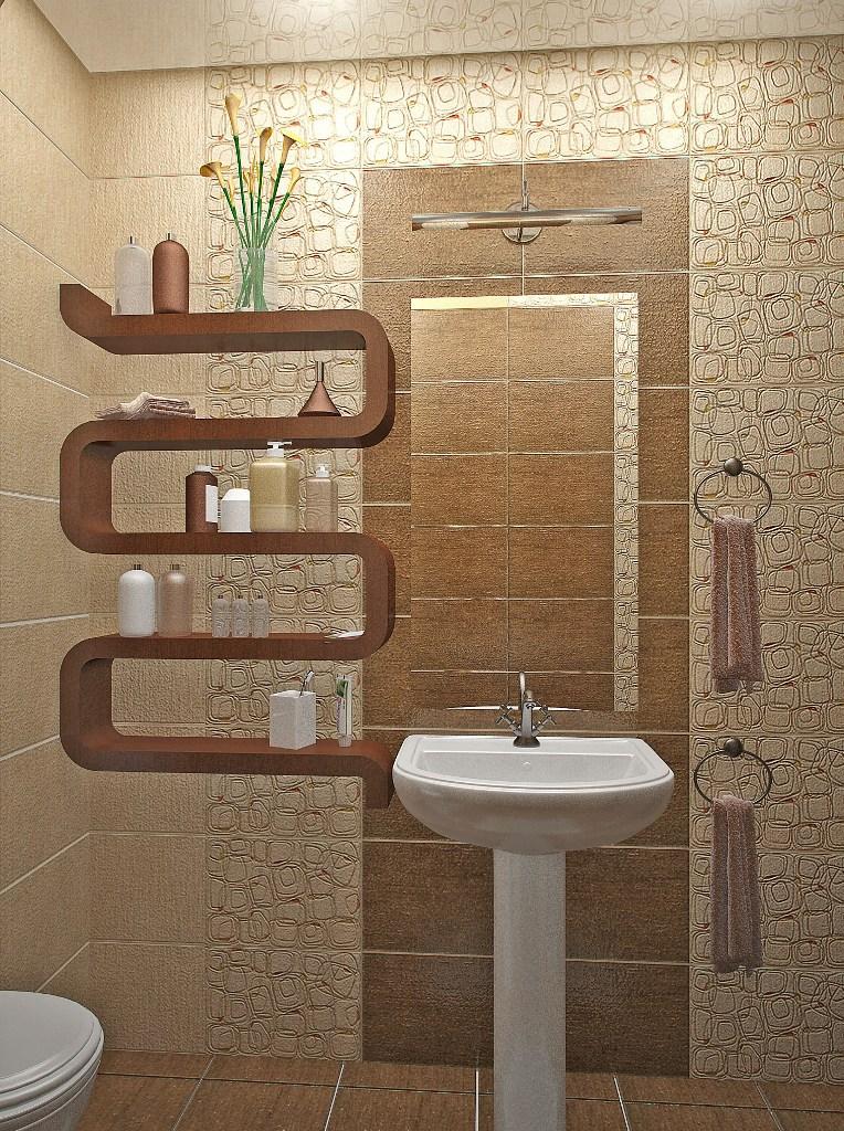 Декор трубы в ванную своими руками