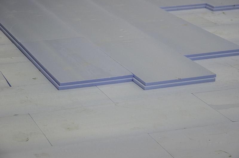 Применение THERMIT XPS при теплоизоляции ледовой арены